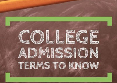 College Admissions Terms to Know